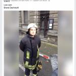 Facebook Live-Video zur Pressearbeit an der Einsatzstelle